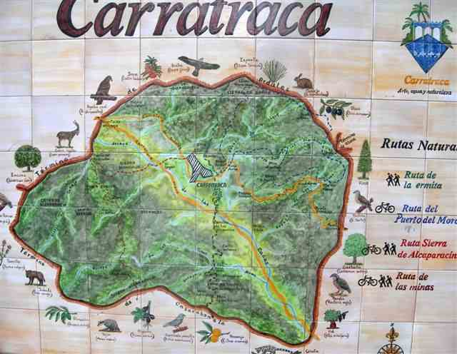 Carratraca Carte