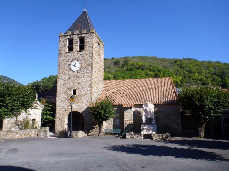 Eglise de Saint-Vincent d'Olargues