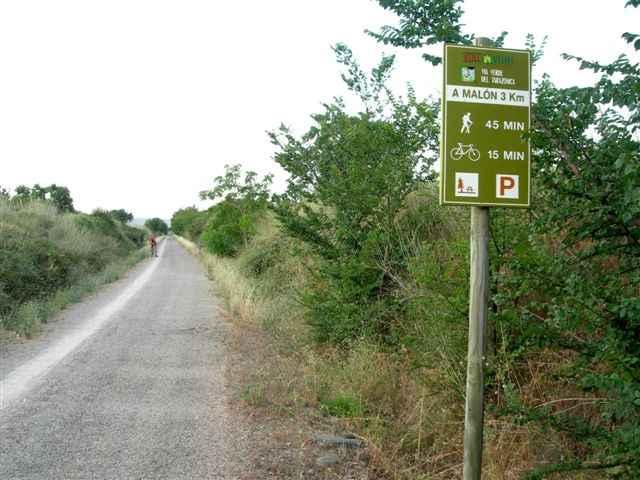 via verde del tarazonica piste verte  u0026quot escachamatas u0026quot  tudela