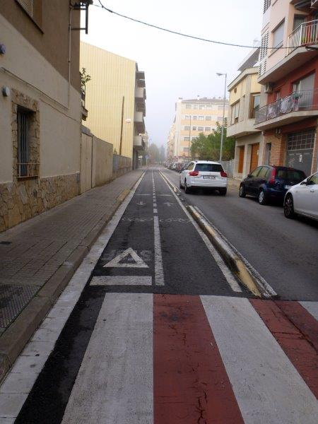 Carrer de Pep Ventura Salt Via Verde del Carrilet