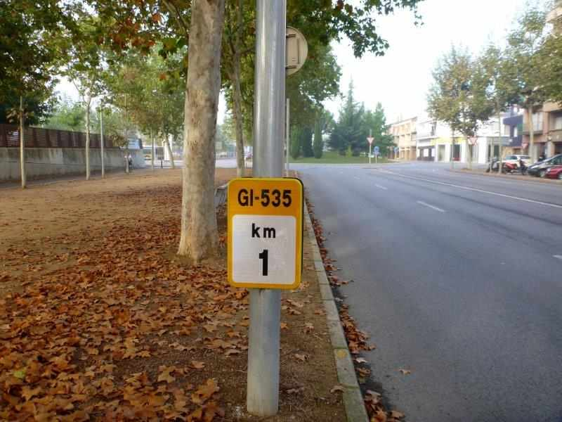 GI-535 km 1 Via Verde del Carrilet