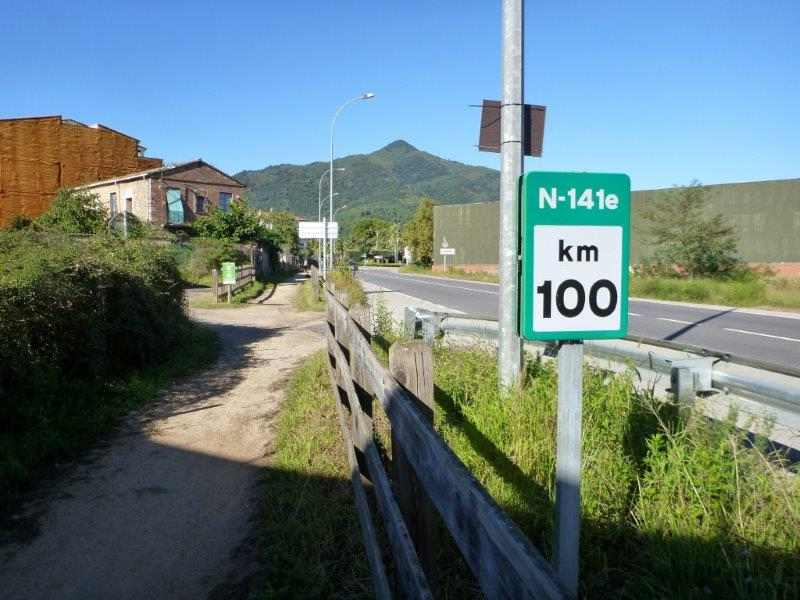 Via Verde del Carrilet V-141e km 100