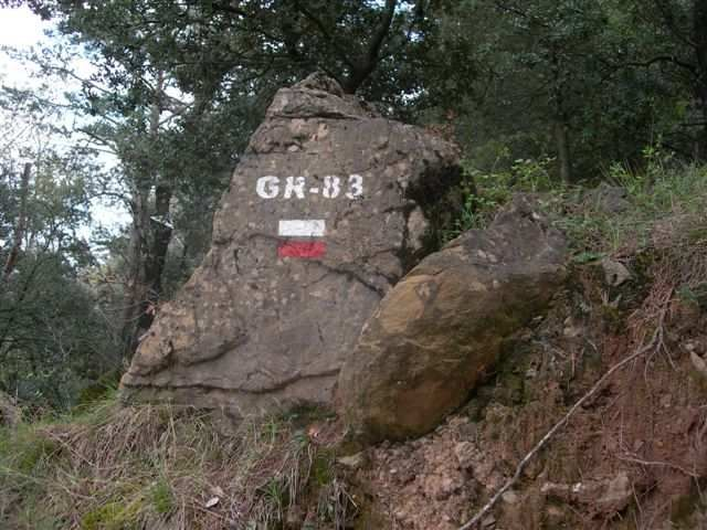 GR-83 (Inscription sur rocher)