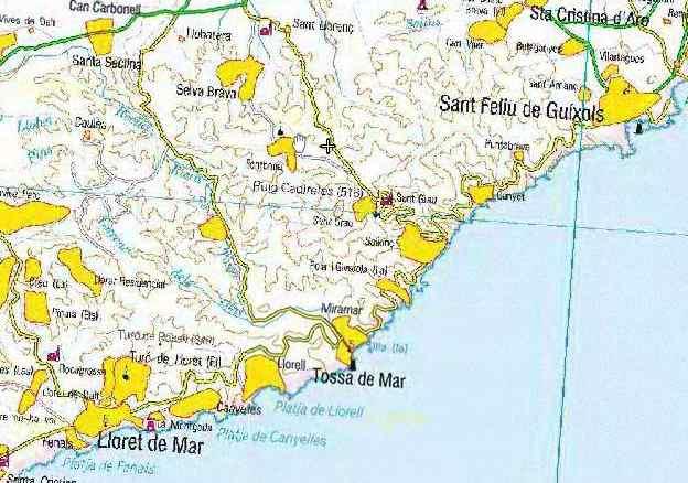 Tossa de mar peut mieux faire en vtt btt - Lloret del mar meteo ...